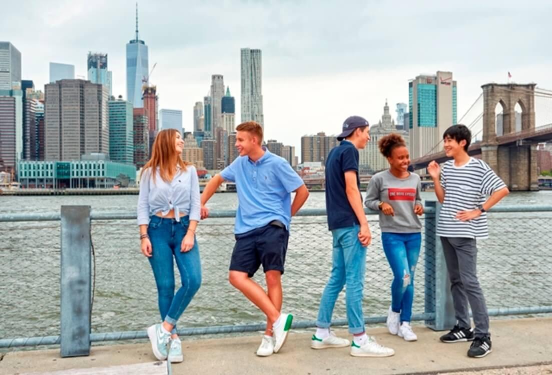 Immersion linguistique jeune à Manhattan