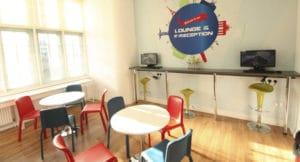 espaces communs séjour linguistique cork