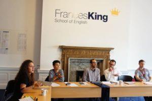 Cours anglais général Frances King voyage linguistique à Dublin