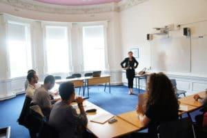 Salle de classe Dublin Frances king
