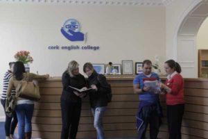 accueil à l'école de langues cork irlande