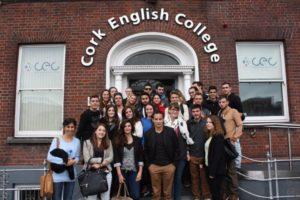 Ecole d'anglais séjour gap year à Cork