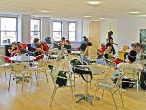 Espace commun séjour linguistique à Brighton