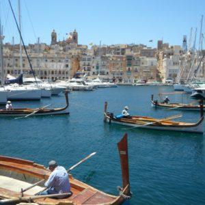 Chez le professeur à Malte