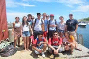 Jeunes en voyage linguistique à Boston