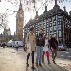 Immersion linguistique à Londres