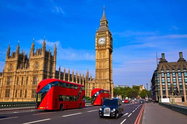 Immersion linguistique Londres
