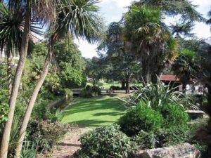 Jardins de Bournemouth Angleterre