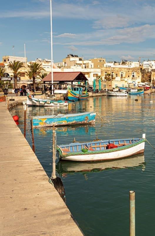 Immersion anglais Malte