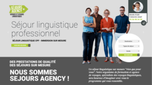 Immersion linguistique CPF