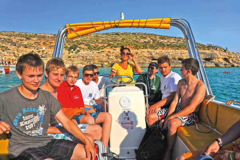 sejours agency Séjour anglais et plongée à Malte