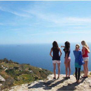 Séjour junior cours anglais pour ados à Malte