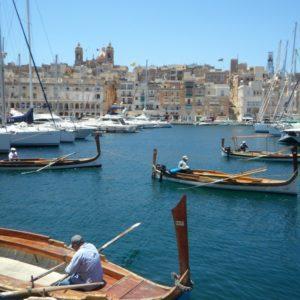 Chez le prof à Malte
